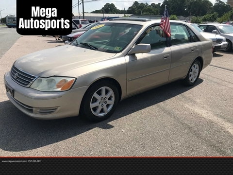 2003 Toyota Avalon for sale at Mega Autosports in Chesapeake VA