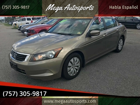 2009 Honda Accord for sale at Mega Autosports in Chesapeake VA