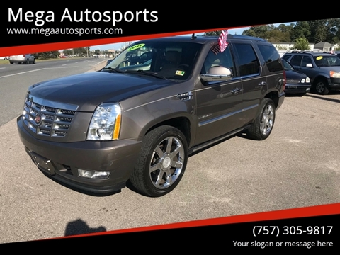 2011 Cadillac Escalade for sale at Mega Autosports in Chesapeake VA