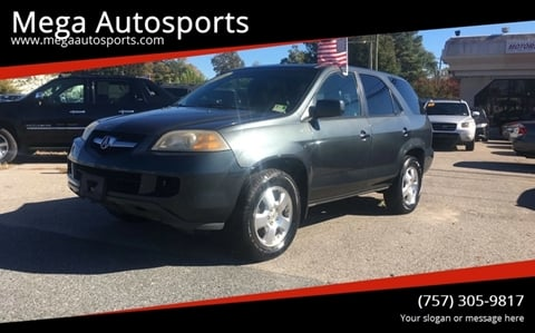 2006 Acura MDX for sale at Mega Autosports in Chesapeake VA