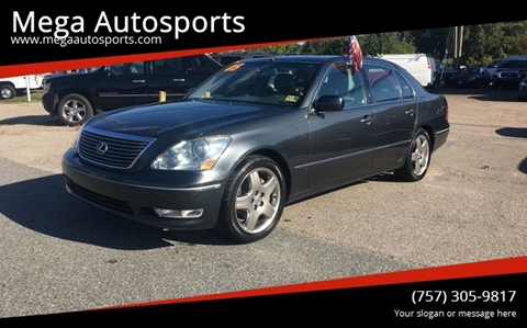 2005 Lexus LS 430 for sale at Mega Autosports in Chesapeake VA