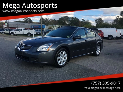 2008 Nissan Maxima for sale at Mega Autosports in Chesapeake VA
