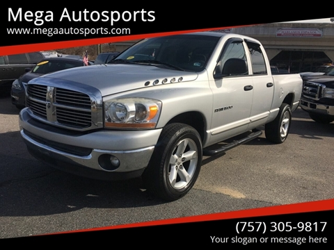 2006 Dodge Ram Pickup 1500 for sale at Mega Autosports in Chesapeake VA
