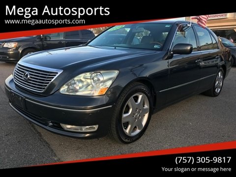 2004 Lexus LS 430 for sale at Mega Autosports in Chesapeake VA