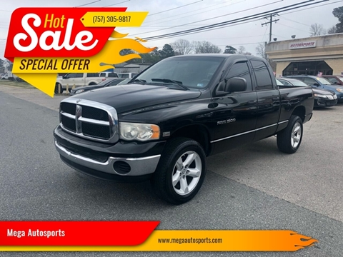 2004 Dodge Ram Pickup 1500 for sale at Mega Autosports in Chesapeake VA