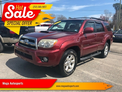 2006 Toyota 4Runner for sale at Mega Autosports in Chesapeake VA