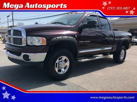 2005 Dodge Ram Pickup 3500 for sale at Mega Autosports in Chesapeake VA
