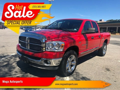 2007 Dodge Ram Pickup 1500 for sale at Mega Autosports in Chesapeake VA