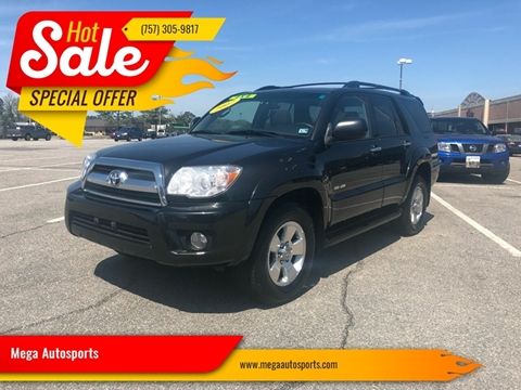 2007 Toyota 4Runner for sale at Mega Autosports in Chesapeake VA