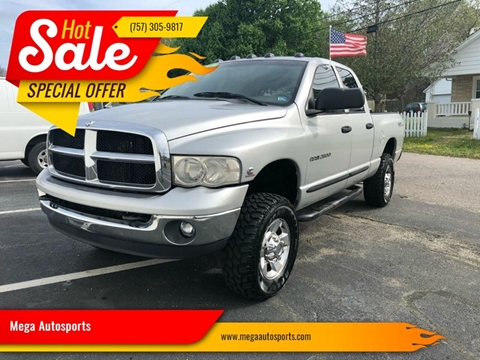 2005 Dodge Ram Pickup 2500 for sale at Mega Autosports in Chesapeake VA