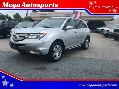 2007 Acura MDX for sale at Mega Autosports in Chesapeake VA
