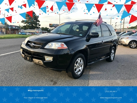 2002 Acura MDX for sale at Mega Autosports in Chesapeake VA