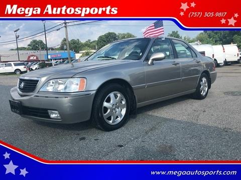 2002 Acura RL for sale at Mega Autosports in Chesapeake VA