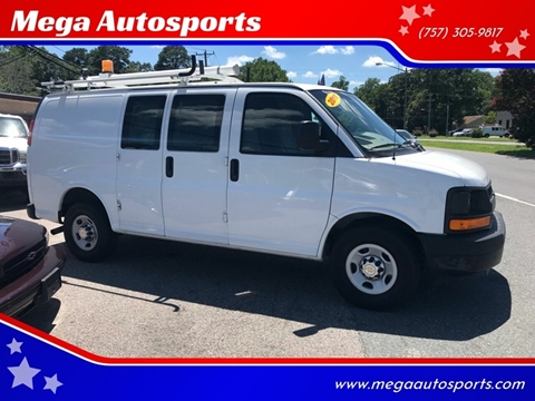 2011 Chevrolet Express Cargo for sale at Mega Autosports in Chesapeake VA
