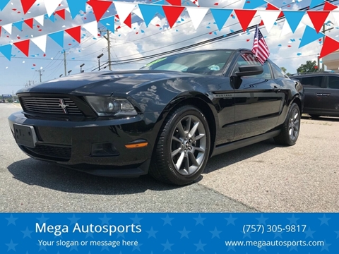 2012 Ford Mustang for sale at Mega Autosports in Chesapeake VA