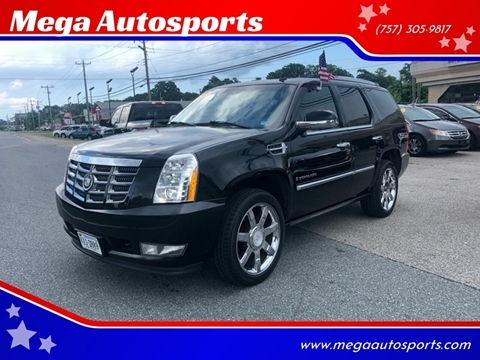 2008 Cadillac Escalade for sale at Mega Autosports in Chesapeake VA