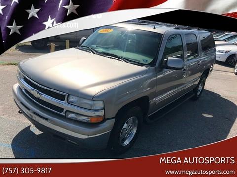 2002 Chevrolet Suburban for sale at Mega Autosports in Chesapeake VA