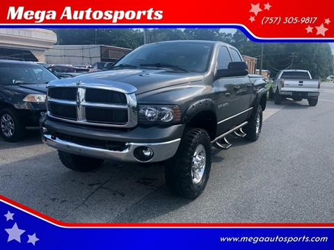 2003 Dodge Ram Pickup 2500 for sale at Mega Autosports in Chesapeake VA