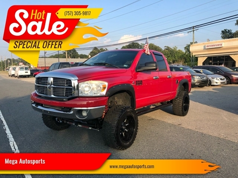 2008 Dodge Ram Pickup 2500 for sale at Mega Autosports in Chesapeake VA