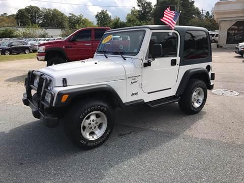 2001 Jeep Wrangler for sale in Chesapeake, VA