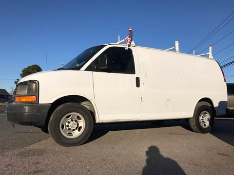 2007 Chevrolet Express Cargo for sale at Mega Autosports in Chesapeake VA