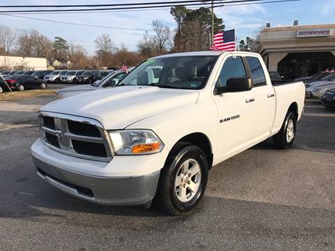 2012 RAM Ram Pickup 1500 for sale at Mega Autosports in Chesapeake VA