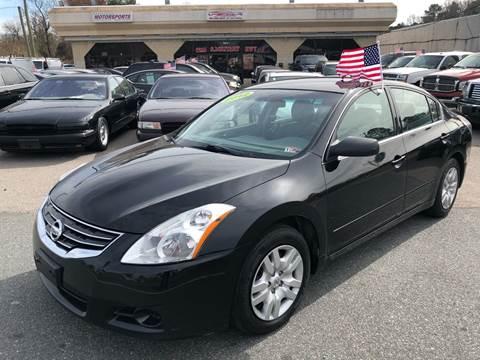 2012 Nissan Altima for sale at Mega Autosports in Chesapeake VA