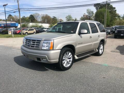 2004 Cadillac Escalade for sale at Mega Autosports in Chesapeake VA