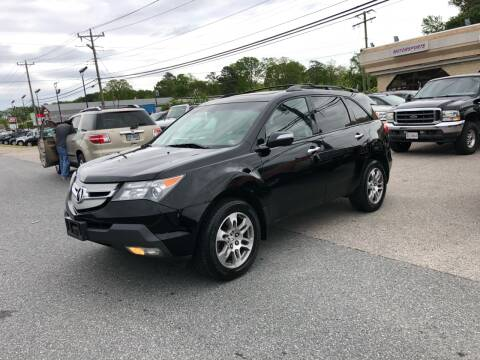 2008 Acura MDX for sale at Mega Autosports in Chesapeake VA