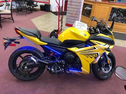 2009 Yamaha FZ6R for sale at Mega Autosports in Chesapeake VA
