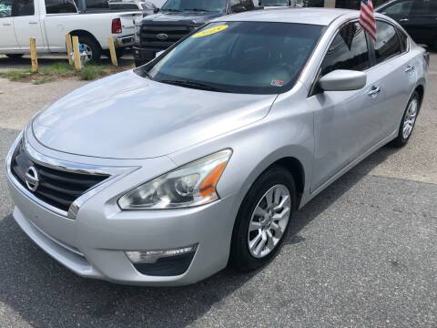 2015 Nissan Altima for sale at Mega Autosports in Chesapeake VA