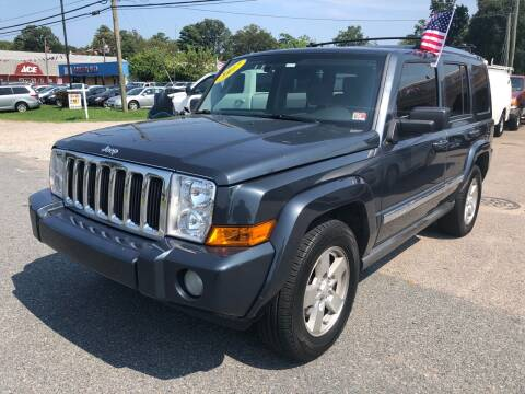 2007 Jeep Commander for sale at Mega Autosports in Chesapeake VA