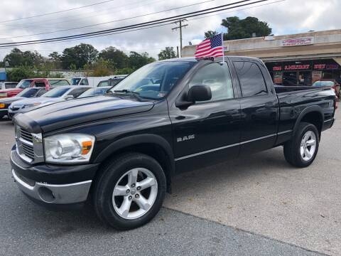 2008 Dodge Ram Pickup 1500 for sale at Mega Autosports in Chesapeake VA