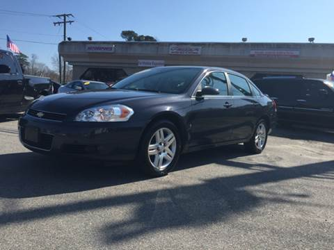 2008 Chevrolet Impala for sale at Mega Autosports in Chesapeake VA