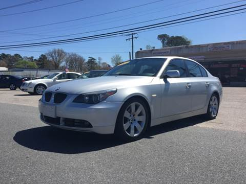 2007 BMW 5 Series for sale at Mega Autosports in Chesapeake VA