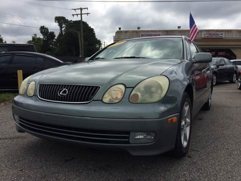 2001 Lexus GS 300 for sale at Mega Autosports in Chesapeake VA