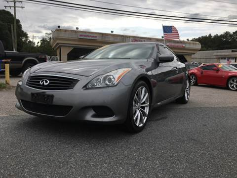 2010 Infiniti G37 Coupe for sale at Mega Autosports in Chesapeake VA