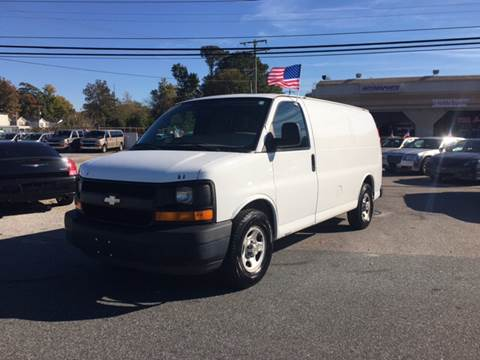 2004 Chevrolet Express Cargo for sale at Mega Autosports in Chesapeake VA
