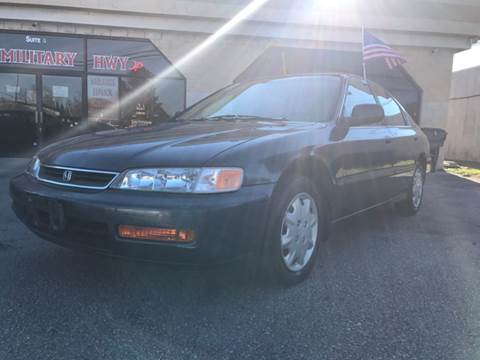 1997 Honda Accord for sale at Mega Autosports in Chesapeake VA