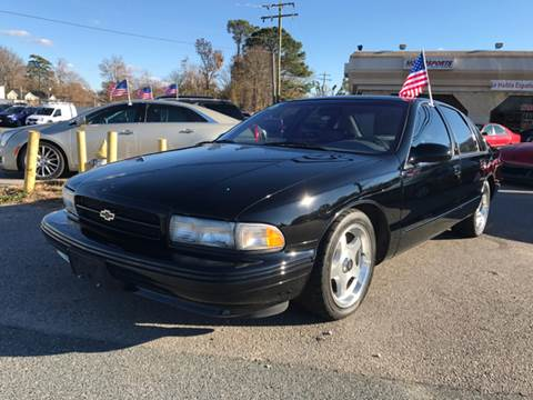1996 Chevrolet Impala for sale in Chesapeake, VA
