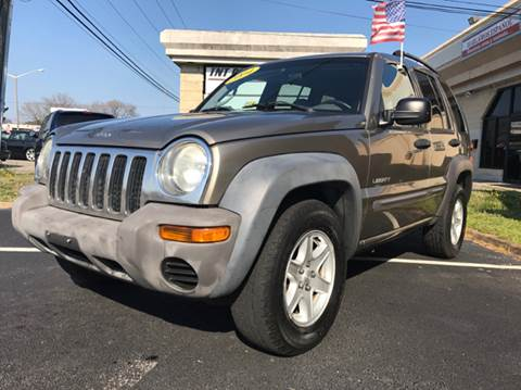 2004 Jeep Liberty for sale at Mega Autosports in Chesapeake VA