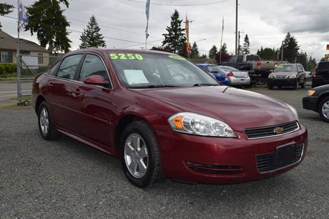 2009 Chevrolet Impala for sale in Marysville, WA