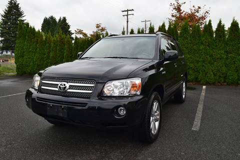 2007 Toyota Highlander Hybrid For Sale In Marysville, WA