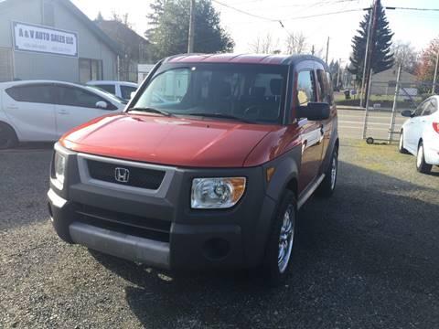 2005 Honda Element for sale in Marysville, WA