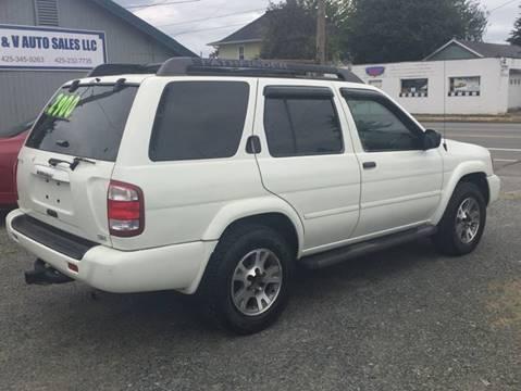 2004 Nissan Pathfinder SE 4WD 4dr SUV In Marysville WA - A