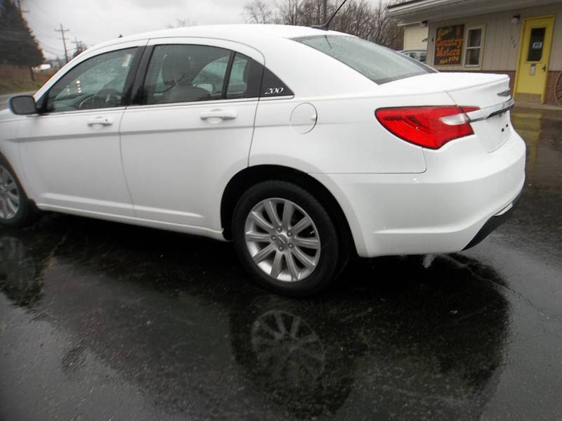 2012 Chrysler 200 Touring 4dr Sedan - Corry PA