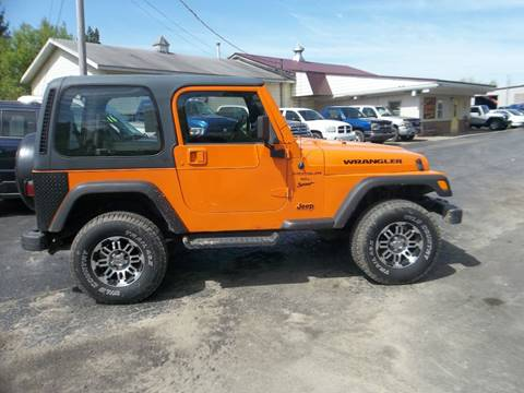 2001 Jeep Wrangler for sale in Corry, PA