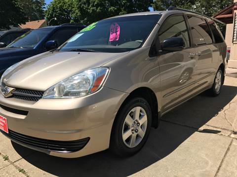 2004 Toyota Sienna for sale at AMERICAN AUTO in Milwaukee WI