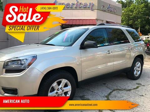 2013 GMC Acadia for sale at AMERICAN AUTO in Milwaukee WI