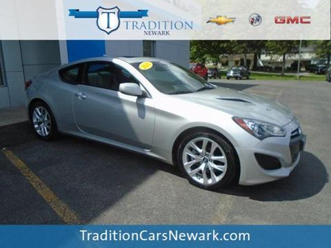 2013 Hyundai Genesis Coupe for sale in Newark, NY